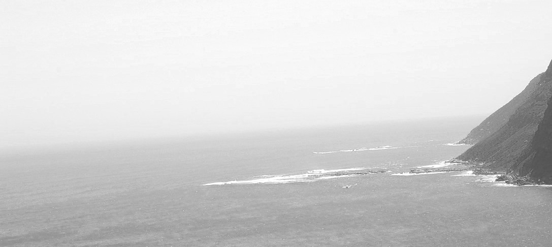 Meer mit Berg
